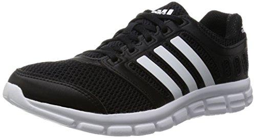 adidas Breeze 101 2, Herren Laufschuhe, Schwarz (Core Black/Ftwr White/Core Black), 40 EU (6.5 Herren UK)