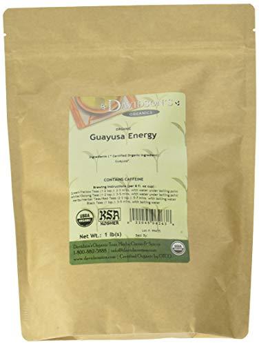 Davidson's Tea Guayusa Energy, Bulk Tea, 16 Ounce