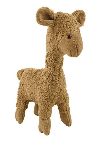 Kallisto Knuffel knuffel Lama Elsa van katoen gevuld met maiswol 30 x 16 cm hoog in bruin
