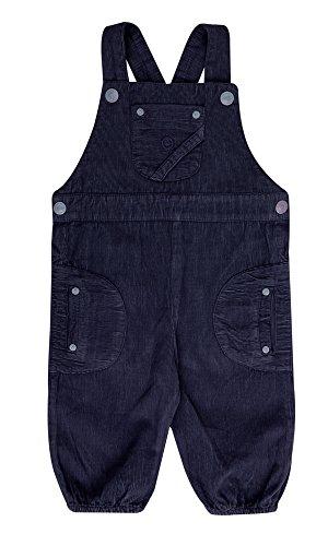 Katvig Baby Latzhose Overall aus Bio-Baumwolle in dunkelblau, Größe:98, Farbe:dunkelblau