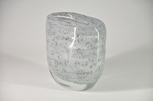 Glasfeld, Glas, Design, Vase, Schmal, Sommerso, Transparent, Deko, Handarbeit