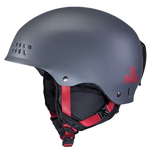 K2 Skis Herren Phase PRO Größe: L/XL-10D4013.4.3 Skihelm/Snowboardhelm, gunmetal, L/XL