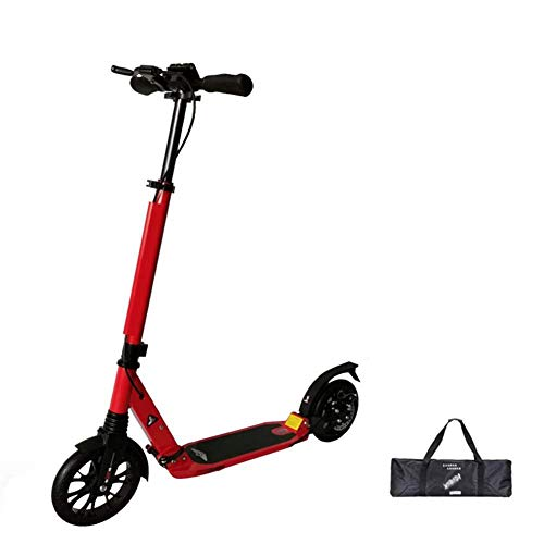 Read About GUOYUN Light Weight Adult City Push Kick Scooter with Large 40 190MM Wheels, City Comfort...