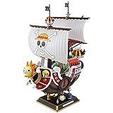 Decoración hogareña 35 cm Anime One Piece Mil Sunny Meryl Boat Pirate Barco Modelo Barco PVC Figura ...