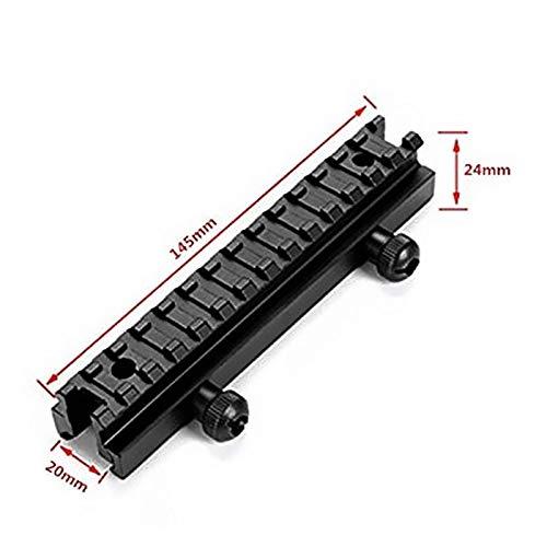 FIRECLUB ハイマウントベース 14スロットマウントレール ライザーマウント 拡張 20mm対応