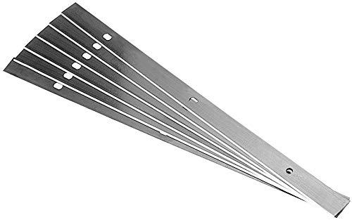 6 Stück HSS Elektra Beckum HC260M HC260C/K Hobelmesser 260x19x1,5mm