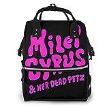 Miley Cyrus マイリー・サイラス マザーズバッグ マタニティ リュックサック トート レディースバッグ 軽量 大容量 旅行 手提げ 出産 入院 出産祝い おしゃれ ママ専用 多機能 背面ファスナー