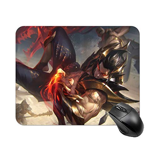 LUOY Sett League Legend Small Gaming Mouse Pad Waterproof Non-Slip Rubber Base Cool Mouse Pads for Computers Office Laptop Keyboard 9.8x11.8 Inch