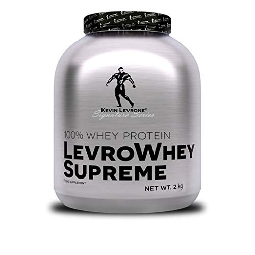 Kevin Levrone Whey Supreme Package of 1 x 2000g - Whey Protein Concentrate – Protein Powder – Muscle Building Supplement for Athletes – Amino Acid - BCAA (Strawberry)