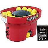 Heater Sports Crusher Portable Mini Lite-Ball Pitching Machine with BONUS Steel Tripod & 4 Hour Battery