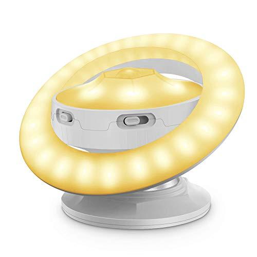 Delleu Luz Recargable del USB de la lámpara de la Noche de la inducción del Sensor de Movimiento del Cuerpo Humano para la decoración casera