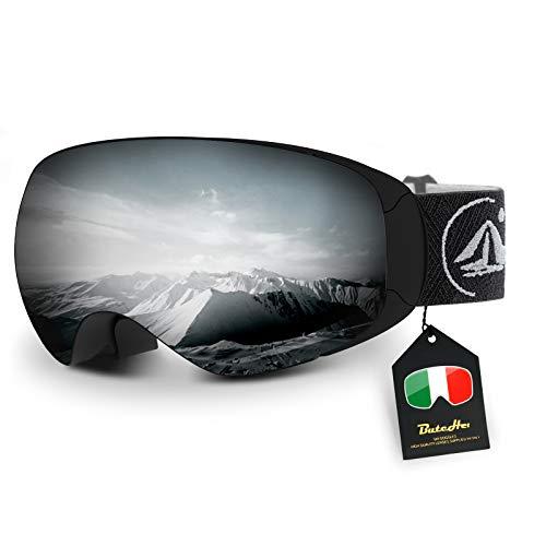 ButcHer Gafas de Esquí, Gafas de Snowboard UV400...