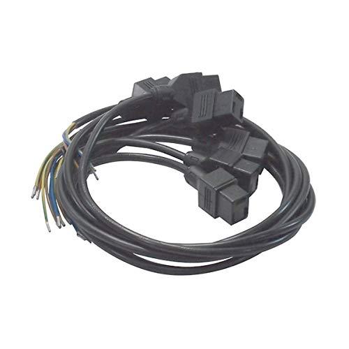 Recamania stekker Amp met kabel 3-aderig, 040 m