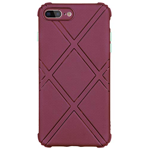 TPU Phone Case für iPhone 7 Plus / 8 Plus (braun)