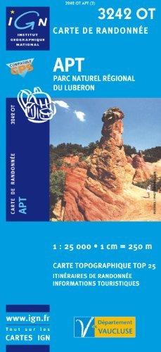 3742 OT Nice, Menton, Côte d'Azur, Monte Carlo, Monaco, Villefranche sur Mer, IGN Topographische Wanderkarte 1:25.000, TOP 25 , IGN ( Institut Géographique National)