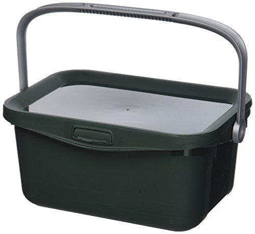 CURVER Bio Box 25,7x17,7x11,3cm in grün/Silber, Plastik, 25.7 x 17.7 x 11.3 cm