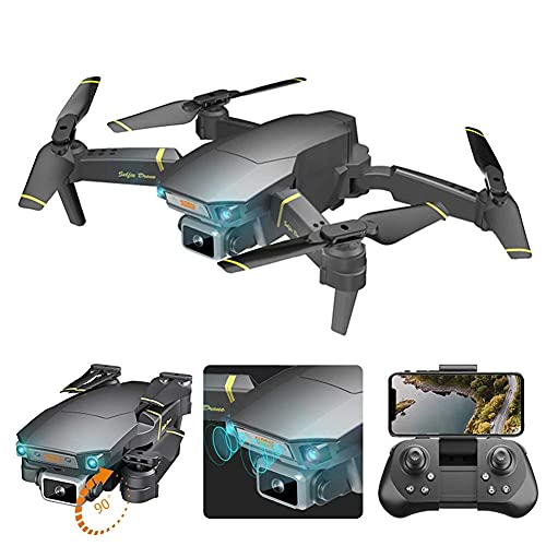 YYAI-HHJU Dron con GPS, Dron con GPS Ultraligero Y Portátil, Cámara Esc Evitación De Obstáculos Fotografía Aérea Avión De Control Remoto Plegable Control De Largo Alcance Regreso Automático A Casa