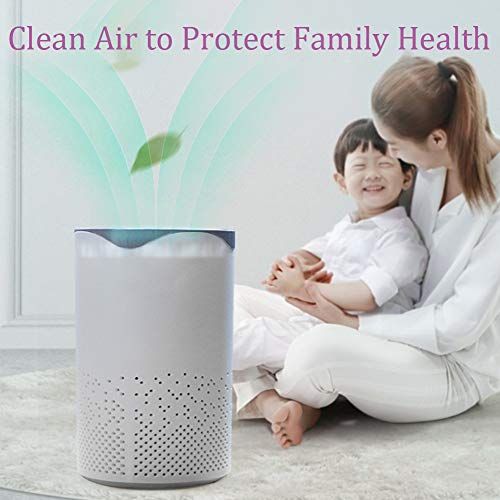 Portable-Air-PurifierActive-Carbon-Filters-Air-CleanerUv-Cleaning-Light-Technology-Kills-GermsBacteria-Virusesfor-Allergies-Smokers-HomePollen-Pet-Dander