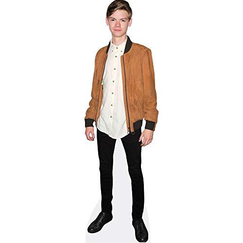 Celebrity Cutouts Thomas Brodie-Sangster (Brown Jacket) Pappaufsteller Mini