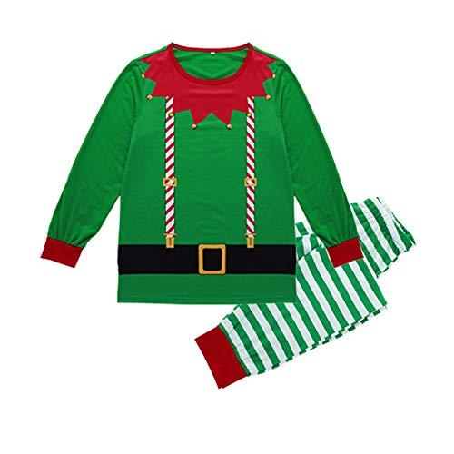 Homebaby Famiglia Pigiama di Natale Abbigliamento da Uomo Abbinato alla Collezione T-Shirt da Uomo