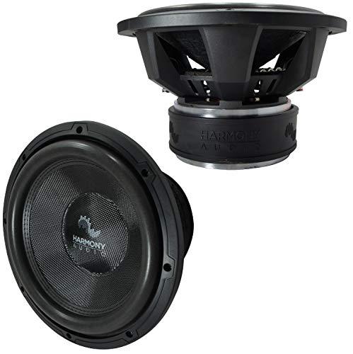 2X Harmony Audio HA-C124 Car Competition 12' Sub 2200W Dual 4 Ohm...