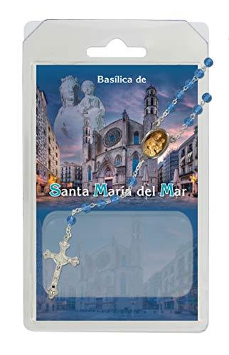 Rosario semicristal Basilica Santa María del Mar con oración - Español