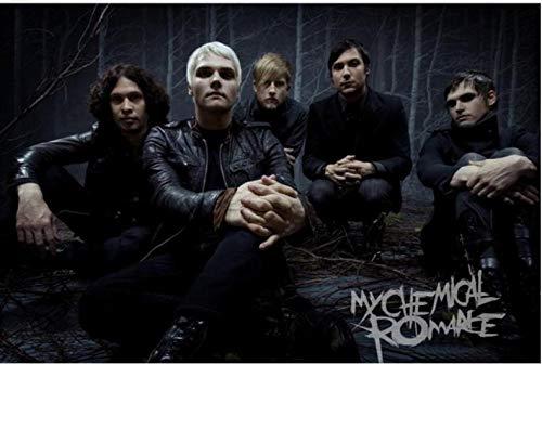 REDWPQ Imagen de Arte de Pared My Chemical Romance Poster Decoración del hogar Impresión de Lienzo Moda Cartel de Pared 40 * 60Cm Sin Marco