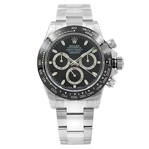 ROLEX Cosmograph Daytona Black Dial Stainless...