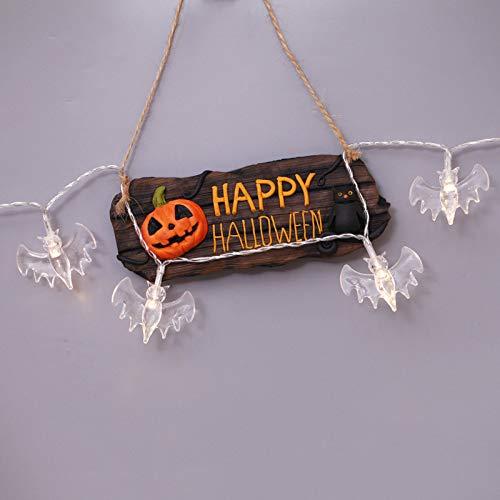 WSYYWD Luci a LED per decorazioni esterne per Halloween Party (3 pezzi) Blu 3m 30led