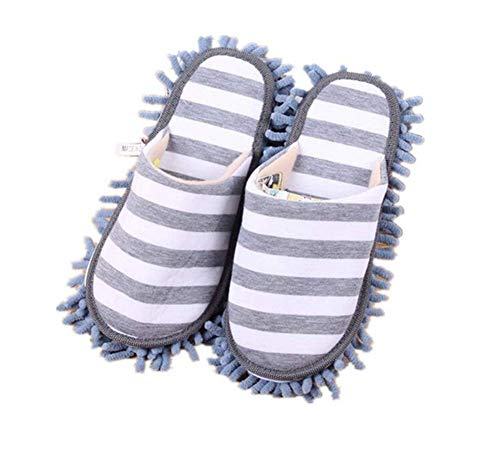 Turkoni Unisex Cleaning Slippers Mopping Shoes