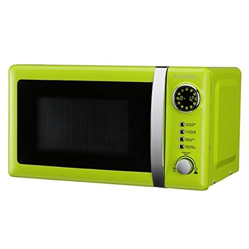 Jocel JMO001337 Microondas verde, 700 W, 20 litros, Aluminio