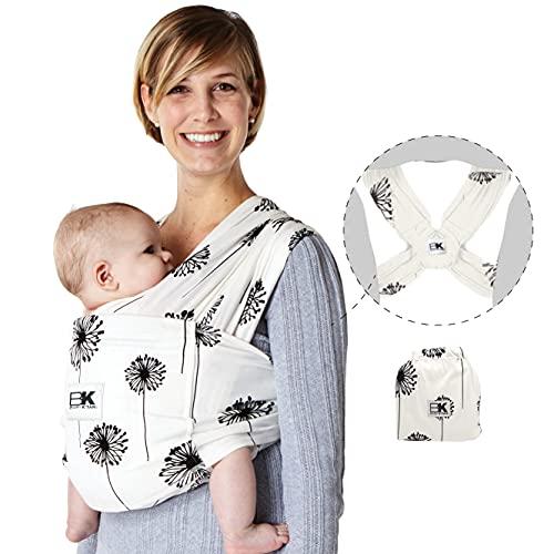 Baby K'tan Porte-bébé (Grande) en coton, motif pissenlit