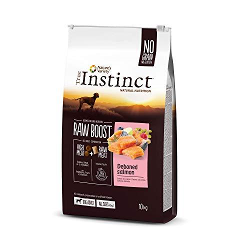 True Instinct Raw Boost – Nature's Variety – mit frischem Lachs – 10 kg
