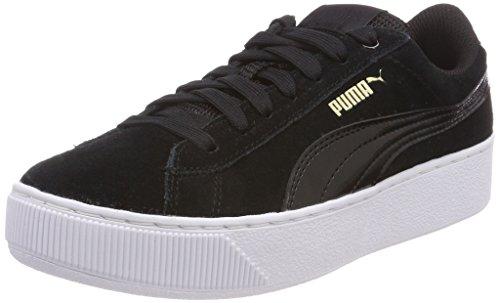 Puma Vikky Platform, Zapatillas para Mujer, Negro (Puma Black-Puma White 05), 42 EU