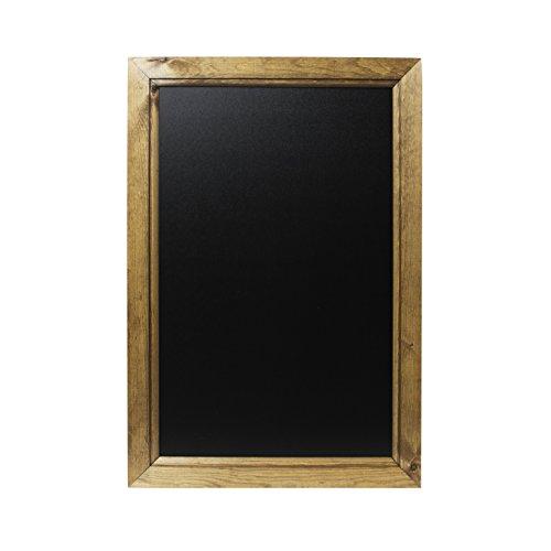 Kreidetafeln UK Dunkle Eiche, gerahmt, Tafel, Holz, schwarz, 62.4x 45x 1,5cm