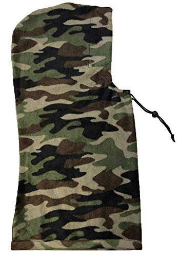 VIZ en Polaire Complet pour Cagoule Cache-Cou Camouflage