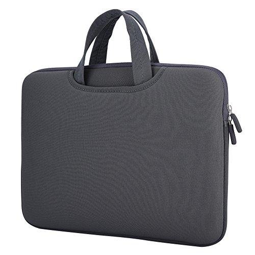 Custodia per borsa per laptop, custodia per custodia per notebook per computer Anti collisione per notebook da 13/15.4 pollici(grigio, 13'')