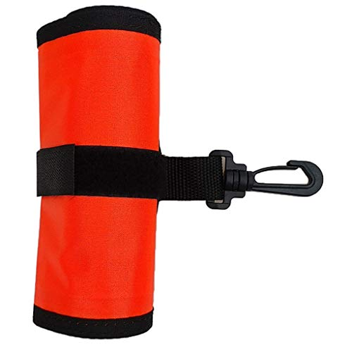 MOUNTAIN MEN 4 pies de Buceo de Superficie baliza SMB Submarino Seguridad boya de flotación Piscina Accesorios Lago Bay Deportes de Aventura Diver (Color : Orange)
