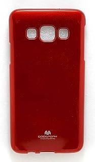 الغطاء الخلفي لسامسونج جالاكسي A3. احمر
