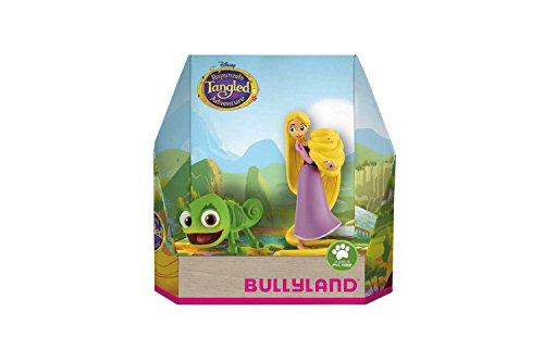 Bullyland 13461 - Spielfigurenset, Walt Disney Rapunzel - Rapunzel und Pascal, liebevoll handbemalte Figuren, PVC-frei, tolles Geschenk für Jungen und Mädchen zum fantasievollen Spielen