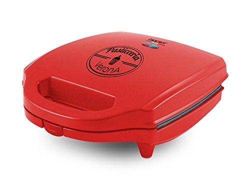 Beper 90.605 Máquina para Hacer Mini Tartas, 900 W, Rojo