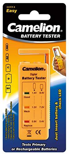 Camelion Batteriestester AA AAA C D 9V-Block