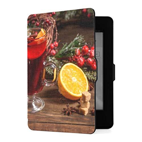 Slimshell Case für Amazon Kindle Paperwhite1 / 2/3 mit Auto Sleep/Wake, Weihnachts-Glühwein Zimt Kardamom eBook Reader Covers