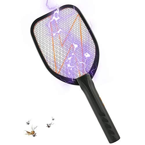 Keyohome Elektrische Fliegenklatsche Fliegenfänger Moskito Zapper/Insektenvernichter, Tötet Mücken, Wespen und andere Insekten, Ideal für Drinnen und Draußen