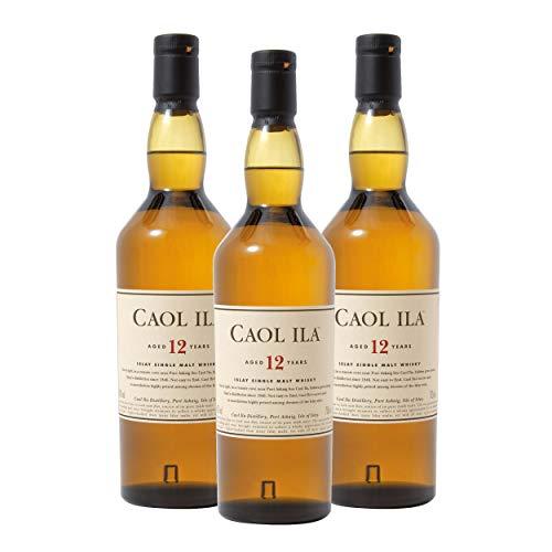 Caol Ila 12 Years/Jahre, 3er, Single Malt, Whisky, Scotch, Alkohol, Alokoholgetränk, Flasche, 43%, 700 ml, 734790