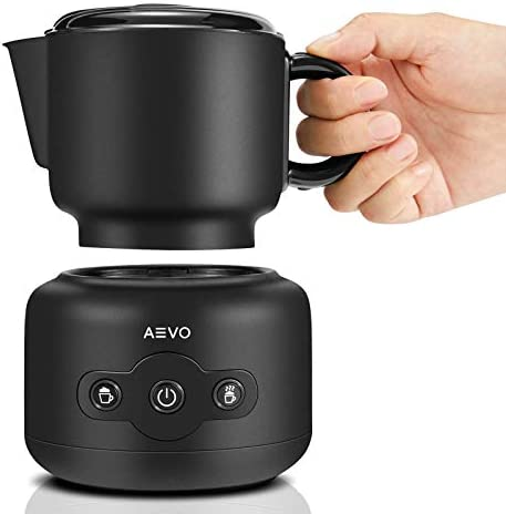 AEVO Detachable Milk Frother Machine Automatic Electric Milk Warmer Foam Maker 4 Modes Dishwasher product image