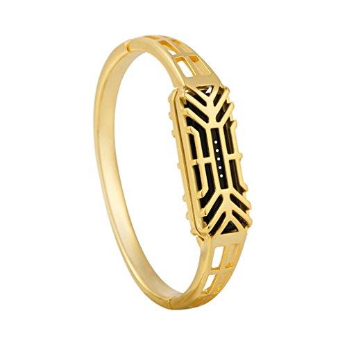 Vovotrade Fashion Pure koper antioxidatie accessoire armband horlogeband armband voor Fitbit Flex 2 (goud)