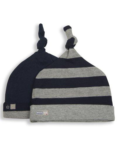Essential One- Lot de 2 Bonnets- Bonnet - Bébé Garçon E028
