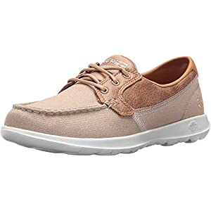 Skechers Women's Go Walk Coral Boat Shoe