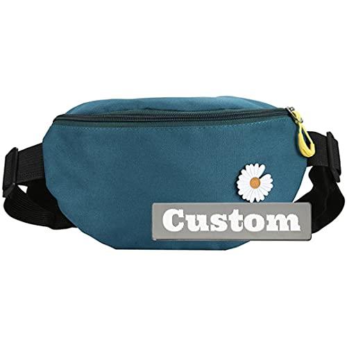 Nombre Personalizado Sling Organizer Bolso de Hombro para Adolescente Casual Daypack Hombres Pecho pequeño (Color, Size : One Size)